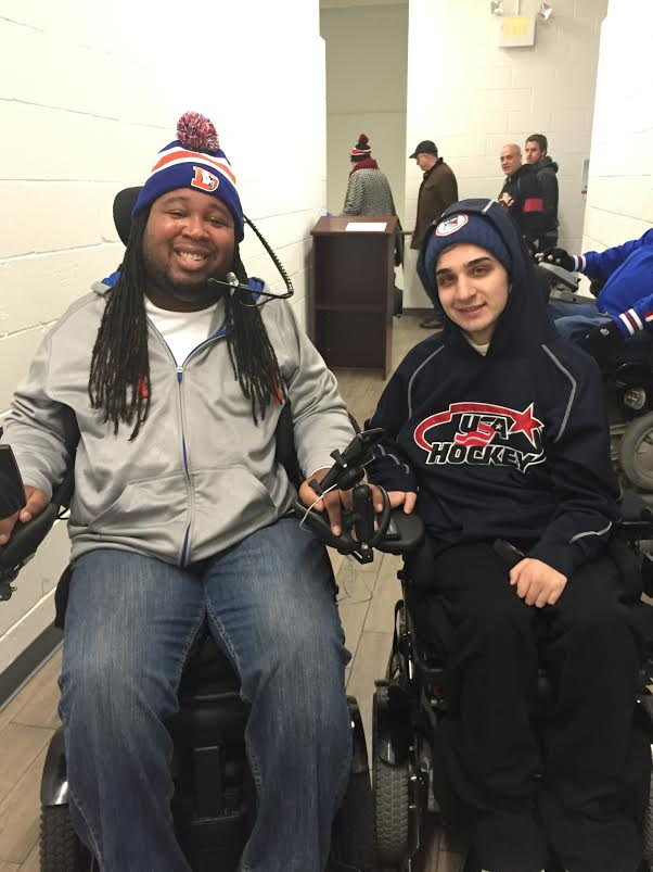 Eric LeGrand with Mike Nichols
